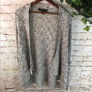 Forever 21 Marled Knit Open Cardigan